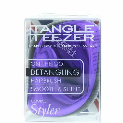 Tangle Teezer Compact Styler Purple Dazzle - Detangling Brush • 11.16£
