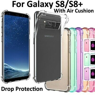 AU4.86 • Buy For Samsung Galaxy S8 /S8+ Case Ultra Thin Clear Shockproof Soft Gel Tough Cover