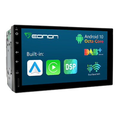 AU339.39 • Buy Eonon Android 10 Head Unit 7  2DIN Car Stereo GPS Touch Double DIN WiFi DAB+ RDS