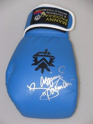 AU289 • Buy MANNY PACQUIAO Hand Signed Boxing Glove 2