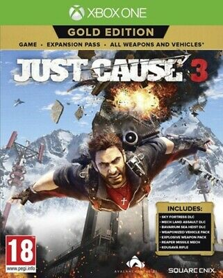 £13.98 • Buy Just Cause 3 (Xbox One) PEGI 18+ Adventure: Free Roaming FREE Shipping, Save £s