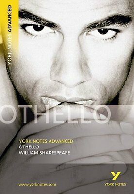 Othello: (Advanced) (York Notes Advanced) By William Shakespeare • 2.18£
