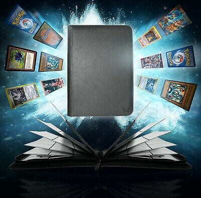 AU49.95 • Buy ARK Premium 9-Pocket Leatherette Binder Album Folder Card Page Pokemon MTG NBA