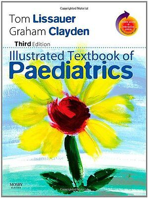Illustrated Textbook Of Paediatrics: With STUDENT CONSULT Online Access By Tom • 3.10£