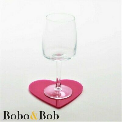 £2.35 • Buy Heart Coasters - 90 Colours - Kitchen - Dining - Table - Mix & Match - Acrylic
