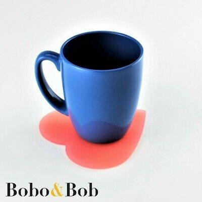 £2.35 • Buy Love Heart Coasters - 94 Colours - Kitchen - Dining - Mix & Match - Acrylic