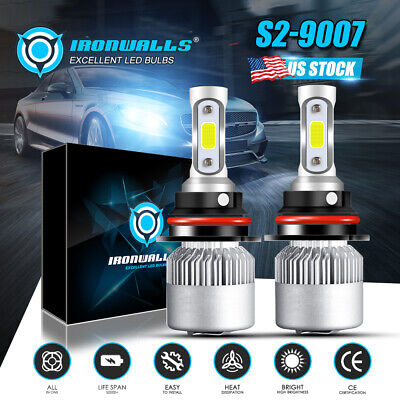 $25.99 • Buy HB5 9007 LED Headlights 300000LM LED Lights Bulbs Kit High Low Beam Super Bright