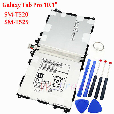 $16.80 • Buy New Battery T8220E For Samsung Galaxy Tab Pro 10.1  SM-T520 SM-T521 SM-T525