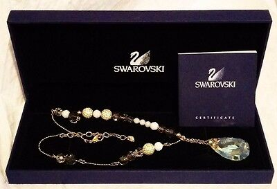 Swarovski original box compare prices on dealsan nwt retired swarovski euphoria gold plated cystal necklace 933640 original box aloadofball Gallery
