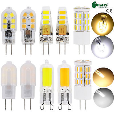 AU3.83 • Buy G9 G4 Silicone Crystal LED Corn Bulb Light 3W 4W 6W 8W 2835 SMD Lamp 12V AC 220V
