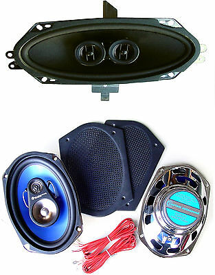 $159 • Buy 1970-76 Firebird Stereo Dash Replacement Speaker + Classic Grill  6 X 9's