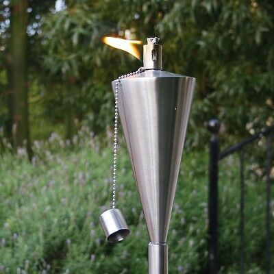 Brand New Boxed Garden Fire Torch - Oil / Paraffin Lantern - 115cm Tall  • 10.79£