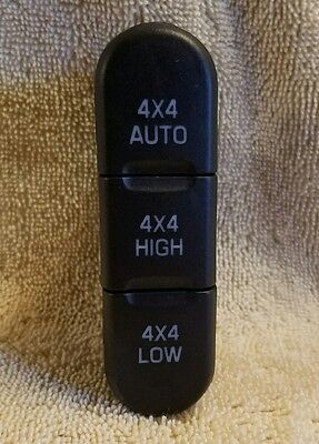$12.99 • Buy 02-05 FORD EXPLORER Transfer Case Switch 4x4 Low 4X4 High OEM