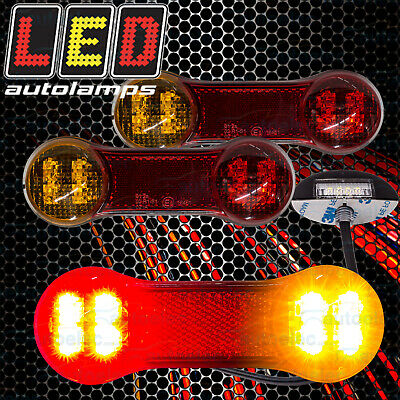 AU41.50 • Buy LED Combination & Number Plate Rear Trailer Lights Lamps Kit + Wiring DB22LP