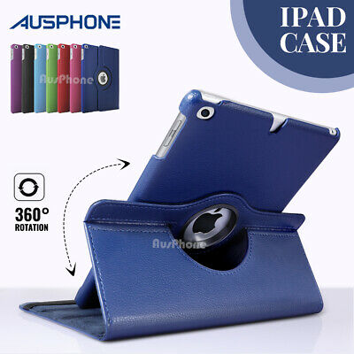 AU10.95 • Buy 360 Rotate Smart Leather Case Cover For Apple IPad 2 3 4 5 6 / Air / Mini / Pro