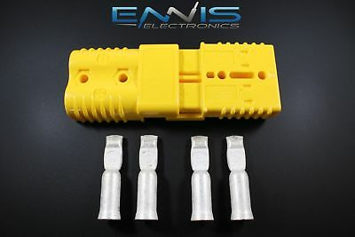 Includes Domestic Shipping Anderson SB175 Connector Kit Yellow 1//0 Awg 6328G1