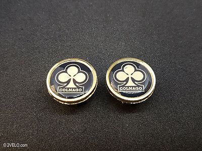$10.80 • Buy Vintage Style Colnago Gold Handlebar End Plugs