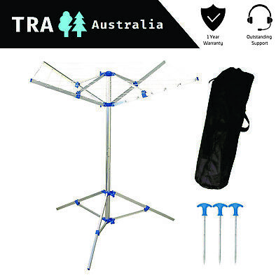 £26.91 • Buy Portable Clothes Line With Carry Bag Caravan RV Accessories Camping Home Hanger