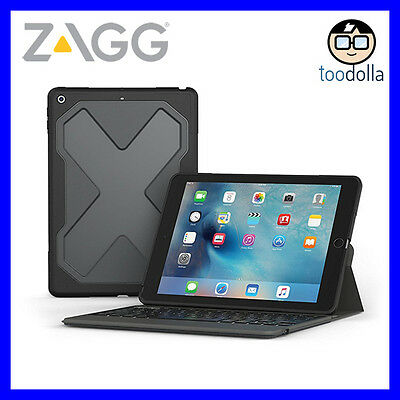 AU134.90 • Buy ZAGG Rugged Messenger Keyboard Case, With Detachable Case For IPad 9.7 (5th/6th)