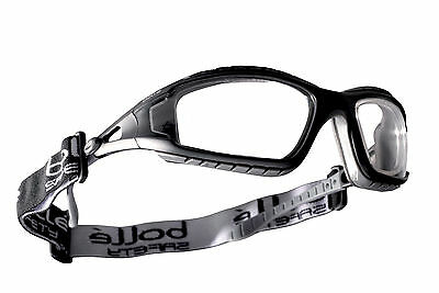 £11.19 • Buy Bolle Clear Lens Safety Glasses, Protective Eye Wear Goggles Tracpsi Rdg