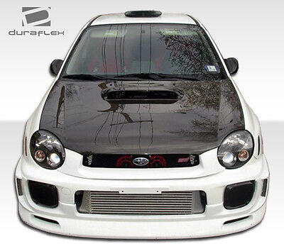 $111 • Buy 02-03 For SUBARU Impreza WRX STI Duraflex C-Speed Front Lip 100389