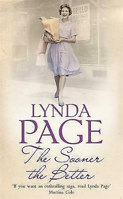 £6.99 • Buy The Sooner The Better By Lynda Page (Paperback) Book