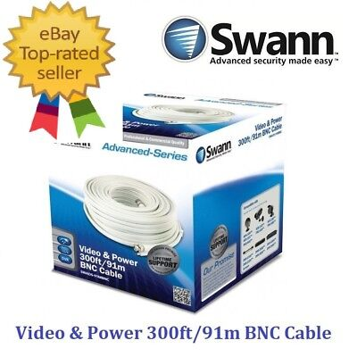 AU85.95 • Buy Swann Video & Power 300ft / 91m BNC Cable RRP $99.99