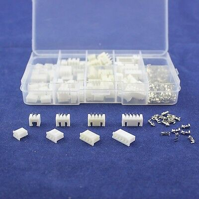 $9.29 • Buy 40Pcs 2.54mm JST XH Connector Terminal Header Assortment 2 3 4 5 Pin Male Female