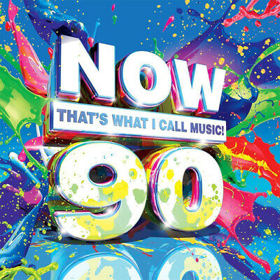Various Artists : Now That's What I Call Music! 90 CD 2 Discs (2015) Great Value • 2£