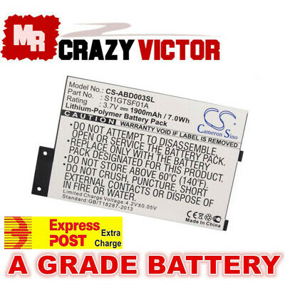 AU24.25 • Buy S11GTSF01A GP-S10-346392-0100 Battery For Amazon Kindle 3 III D00901 EReader