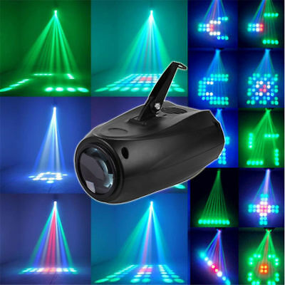 Music Active RGBW LED Lights Laser Stage Effect Lighting Club Disco DJ Party Bar • 20.89$