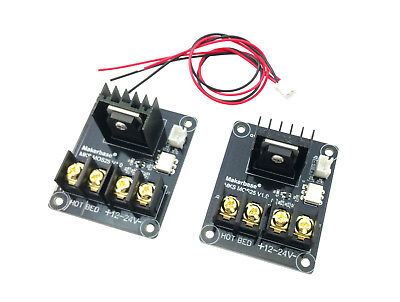$16.67 • Buy 2pcs Monoprice Maker Select MOSFET Board 3D Printer Heated Bed Module I3 Heatbed
