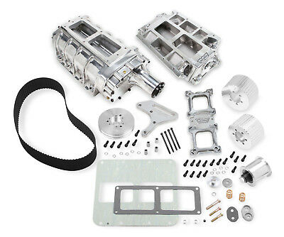 $3775.38 • Buy Weiand Chevy Big Block Standard Deck 6-71 Supercharger 1/2  Pitch Belt Polished