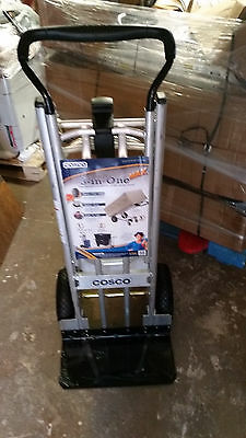 $999.99 • Buy LOT Of 8 Cosco 3-in-1 Max Hand Truck/Assisted Hand Truck/Cart W Flat-Free Wheels