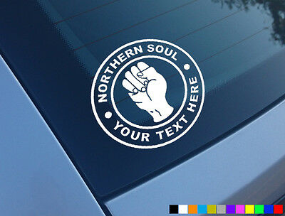Custom Northern Soul Car Scooter Sticker Vinyl Decal Laptop Motown Keep Faith • 2.97£