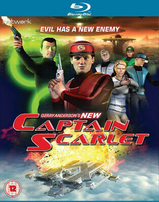 New Captain Scarlet: The Complete Series Blu-Ray (2017) Gerry Anderson Cert 12 • 21.72£
