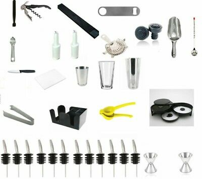 Professional Bartender Kit For Work Or Home • 99.99$