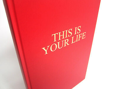 This Is Your Life, Gold Embossed Memory Album, Scrapbook, Photo, Keepsake, A3/A4 • 15.95£