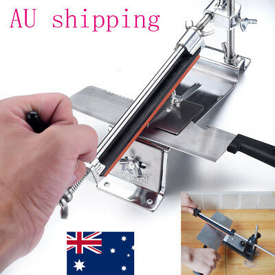 AU48.08 • Buy Professional Kitchen Sharpening System Fix-angle Knife Sharpener With 4 Stones