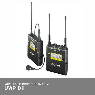 £506.58 • Buy SONY UWP-D11 Integrated Wireless Microphone Package Handheld Replaces UWP-V1