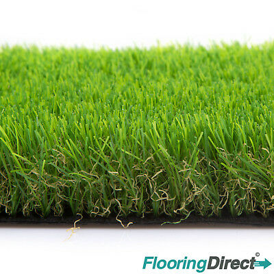 £179.80 • Buy Clearance Artificial Grass Burford 30mm Green Garden Realistic Lawn Astro Turf
