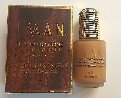 Iman Second To None Oil-free Liquid Make Up Foundation **new**. - *rm48* • 18.99£