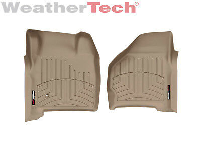 $127.95 • Buy WeatherTech Floor Mats FloorLiner For Ford Excursion/Super Duty - 1st Row - Tan