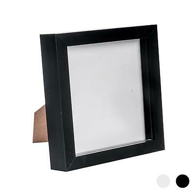 Box Picture Frame Deep 3D Photo Display 6x6 Inch Square Standing Hanging Black • 8.99£