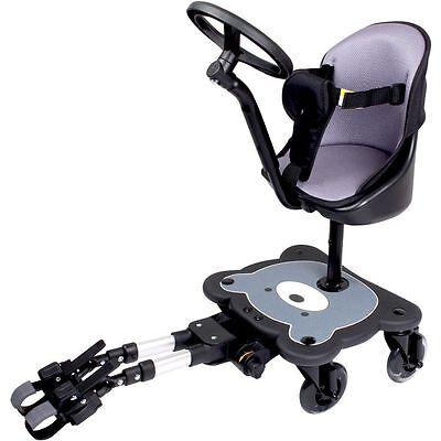 £124.99 • Buy Mee-Go 4 Wheel Ride On Board With Seat Pad