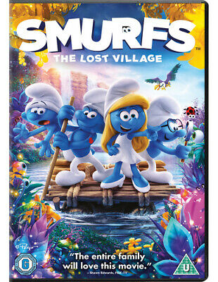 £2 • Buy Smurfs - The Lost Village DVD (2017) Kelly Asbury Cert U FREE Shipping, Save £s