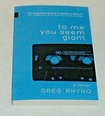 £9.09 • Buy To Me You Seem Giant Book By Greg Rhyno Paperback NEW