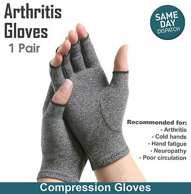 AU10.99 • Buy Arthritis Gloves Compression Joint Finger Pain Relief Hand Wrist Support Brace