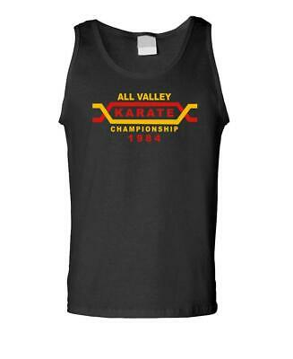 $14.99 • Buy ALL VALLEY Karate Tournament - 80'S Retro - Mens Tank Top