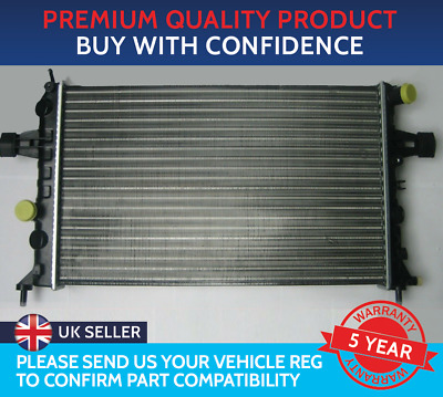 £36.16 • Buy Radiator To Fit Vauxhall Astra G Mk4 Zafira A Mk1 Petrol Lpg Manual With Air Con